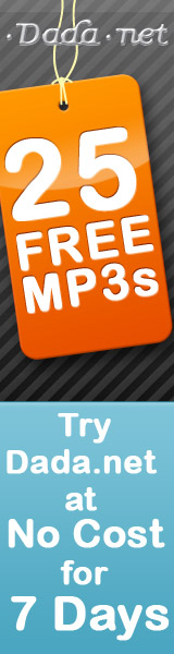 25 Free MP3's at Data.net