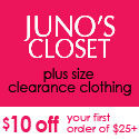 $10 Off Plus Size Clearance