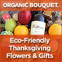 OrganicBouquet Eco-Elegant Thanksgiving Flowers