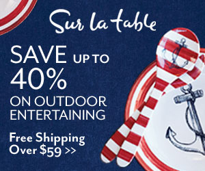 Sur La Table Up to 40% Off Outdoor Entertaining