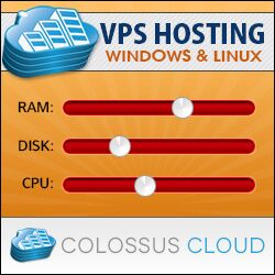 ColossussCloud Windows & Linux VPS Hosting