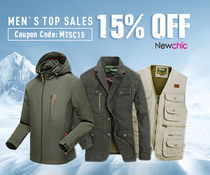 15% Off For Men's Top Sales Clothes