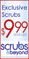 Exclusive Scrubs only at ScrubsAndBeyond.com!