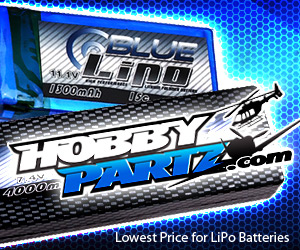 Blue Lipo, SkyLipo, Gens Ace, Hobbypartz, Discount RC Batteries