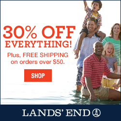 Lands' End 30% off Everything