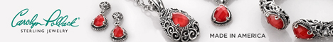 Carolyn Pollack Jewelry CP Signature collection sterling silver and red coral jewelry