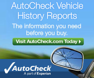 AutoCheck Vehicle History Reports