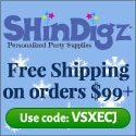 Free Shipping on Holiday orders $85+ at Shindigz.