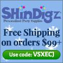 Free Shipping on Holiday orders $85+ at Shindigz.
