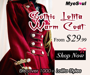 Gothic Lolita Warm Coat from $29.99