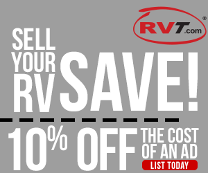 Save 10% off the cost of an ad at RVT.com