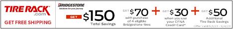 Bridgestone, Get Up to a $100 Reward Card!
