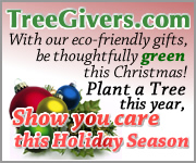Give a green gift this Christmas and plant a tree