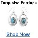 Turquoise Earrings Jewelry Shop Sale