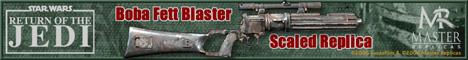 Boba Fett Blaster Scaled Replica