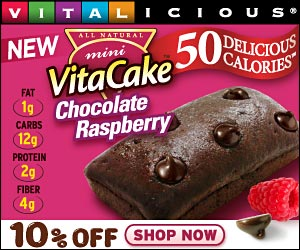 10% Off New 50-Calorie VitaCakes