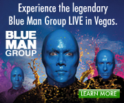 See the Blue Man Group Live!