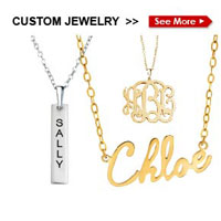 Pugster Personalized Jewelry