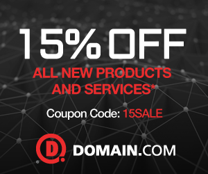15% off All New Products with code: 15SALE
