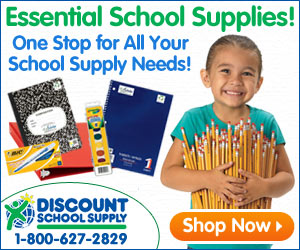 Save 10% On Stock Items During Our Back To School Sale At DiscountSchoolSupply.com! Use Code: BTS14
