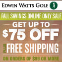 Fall Savings Online Only Sale - Get Up to $75 off your online purchase, plus Free Shipping on orders