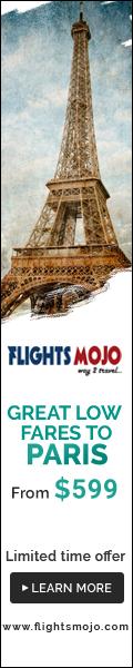 Great low fares to Paris at Flights Mojo