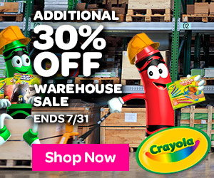 Extra 30% off Warehouse Sale