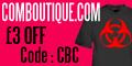Comboutique £3 OFF your custom t-shirt