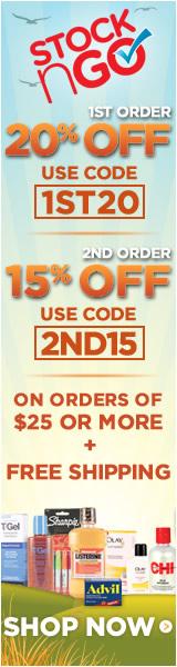 1st Order 20% Off & 2nd Order 15% Off