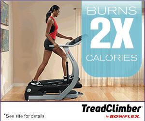 Bowflex Treadclimber 2x Calorie Burn New 2/11