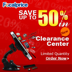 Save Money, FocalPrice Clearance Center