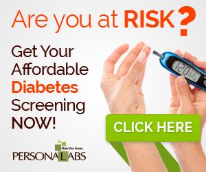 Diabetes Testing @ Personalabs.com
