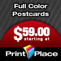Full Color Postcards from PrintPlace.com