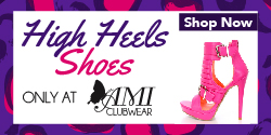 Shop AMIclubwear.com for great deals on fashionable high heel shoes</div>