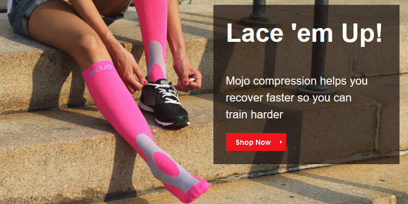 Lace `Em Up!,radical designs and colors keeps you stylish - on the road - at the gym - or recovering at home.   <br>Used by professional triathletes around the world, Graduated Compression socks are scientifically proven - to maximize power, boost energy, and speed recovery time.