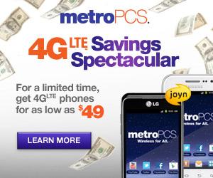 MetroPCS Savings Spectacular