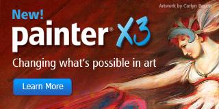 Buy Corel Painter X3