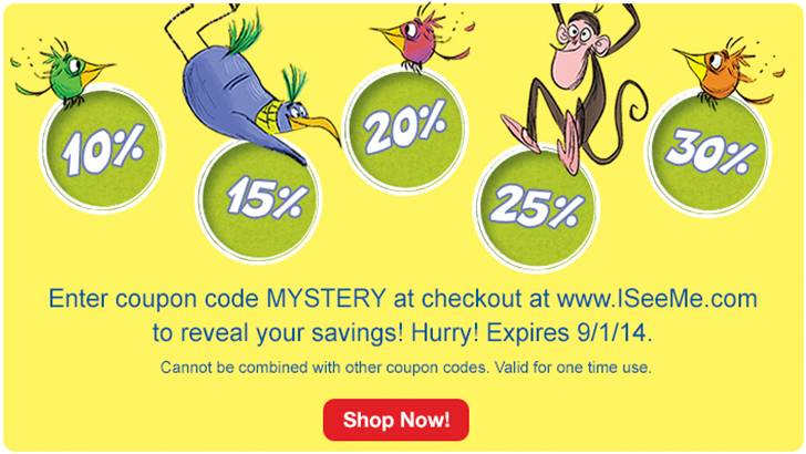 Enter code MYSTERY during checkout to get 10%-30% off your order!