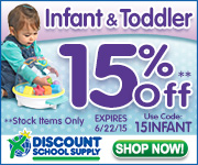 Save 15% Off Stock Infant & Toddler Items & Get Free Shipping On Orders Over $79!
