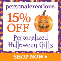 250x250 - 15% off Personalized Halloween Gifts from Personal Creations