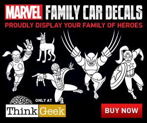 Marvel Superhero Car Decals
