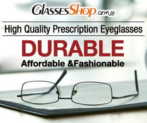 Prescription Eyewear Starting at $4.95 at Glasses Shop.com