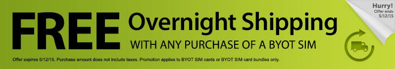 Straight Talk Promo Code for BYOT SIM bundle (BYOT SIM + Data Plan)