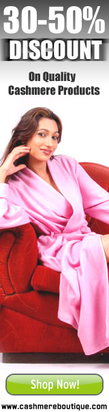 30% to 50% Discount on Cashmere Products