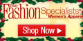 Holidays at Fashion Specialists!