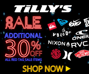 Tilly's 12 Days of Deals