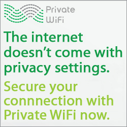 Get 3 days of free Private WiFi