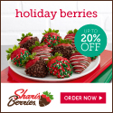 Up to 20% off Gourmet Dipped Holiday Strawberries & Sweet Treats