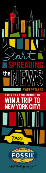 Start Spreading the News Sweepstakes