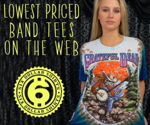 Grateful Dead Banjo Player T-Shirt